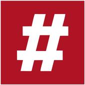 #hashtag icon