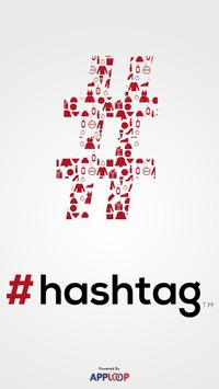 #hashtag poster