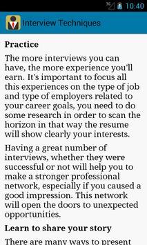 Interview HelpDesk apk screenshot