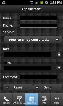 Austin DWI DUI Attorney apk screenshot