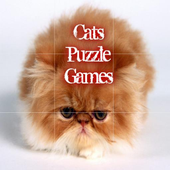 Cats Puzzle Games For Kids icon