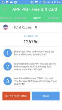 App Pig - Free Gift Cards apk screenshot
