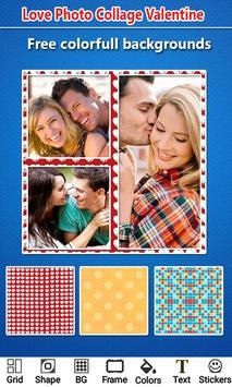 Love Photo Collage Valentine screenshot 1