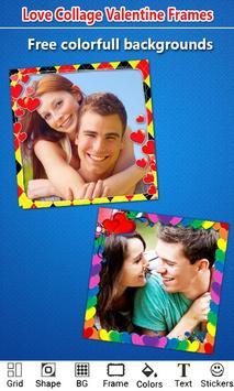 Love Photo Collage Valentine screenshot 2