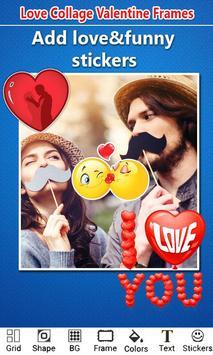 Love Photo Collage Valentine screenshot 3