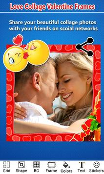 Love Photo Collage Valentine screenshot 4