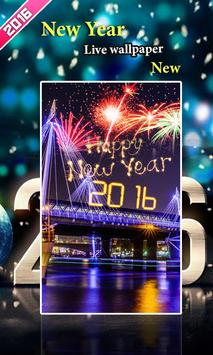 New Year Live Wallpaper2016new poster