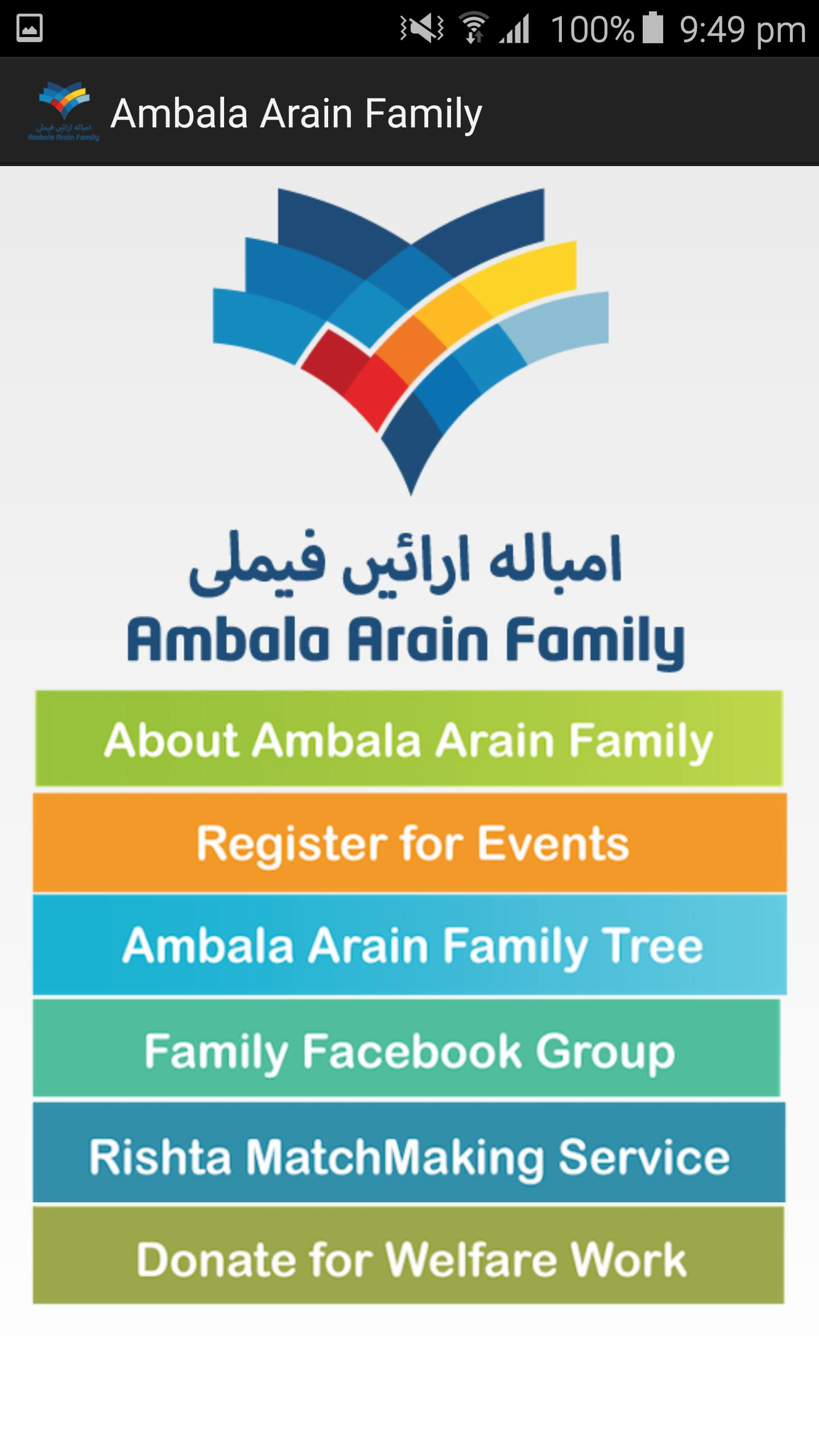 Ambala Arain Family for Android - APK Download