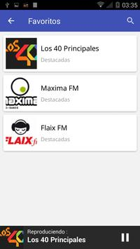 Radio Spain FM screenshot 4