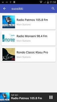 Radio Finland FM apk screenshot