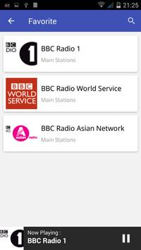 Radio UK FM apk screenshot
