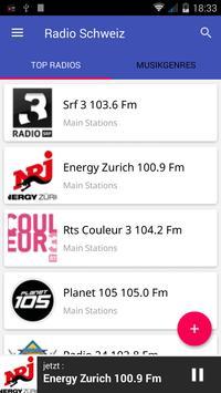 Radio FM Schweiz poster
