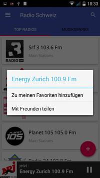 Radio FM Schweiz screenshot 2