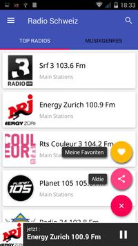 Radio FM Schweiz screenshot 3