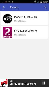 Radio FM Schweiz screenshot 4