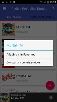 Radio Republica Dominicana 📻 Emisoras FM Gratis apk screenshot