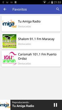 Radio Venezuela FM screenshot 4
