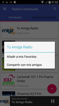 Radio Venezuela FM screenshot 1