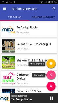 Radio Venezuela FM apk screenshot