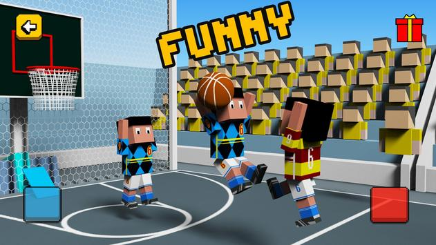 Cubic BasketBall 3D poster