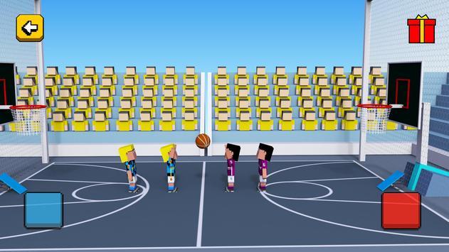 Cubic BasketBall 3D apk screenshot