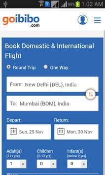 Flight Ticket Booking App poster