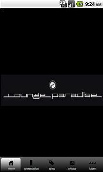 LOUNGE PARADISE poster