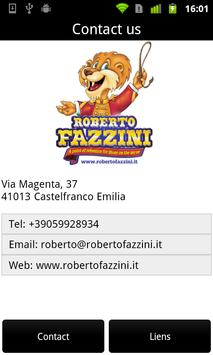 Roberto Fazzini apk screenshot