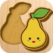 Baby Wooden Blocks Puzzle icon