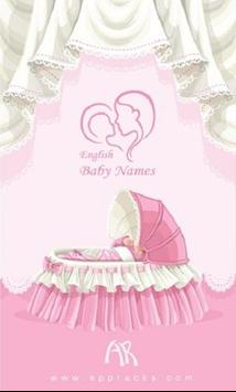 Baby Name poster