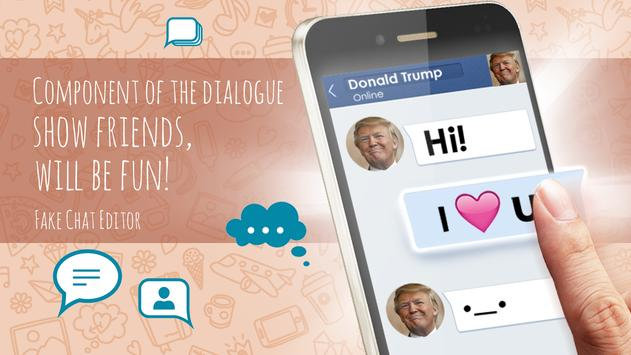 Fake Chat Editor apk screenshot
