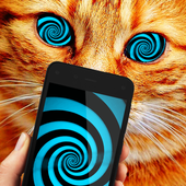 Hypnosis Cat Astral Prank icon