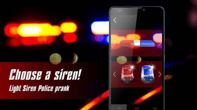 Light Siren Police prank apk screenshot