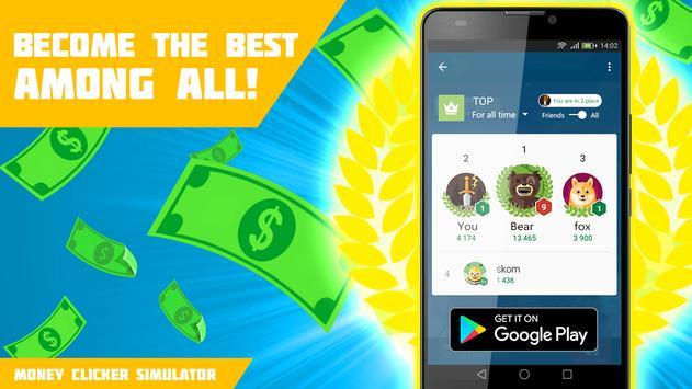 Money cash clicker apk screenshot