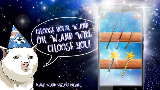 Magic Wand Wizard Prank screenshot 2