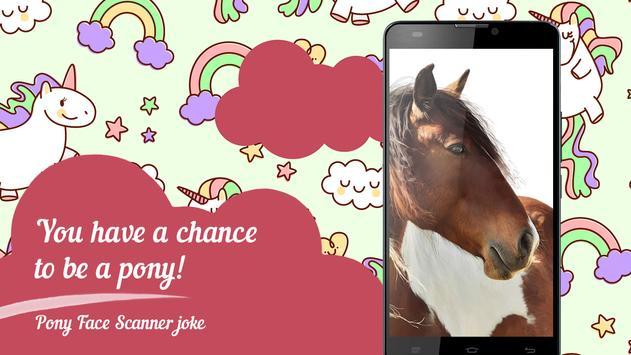 Pony Face Scanner joke screenshot 1