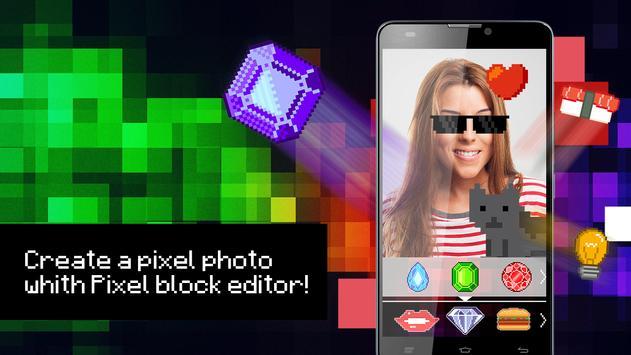 Pixel block editor apk screenshot