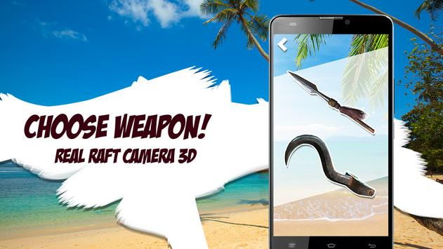 Real Raft Camera 3D apk screenshot