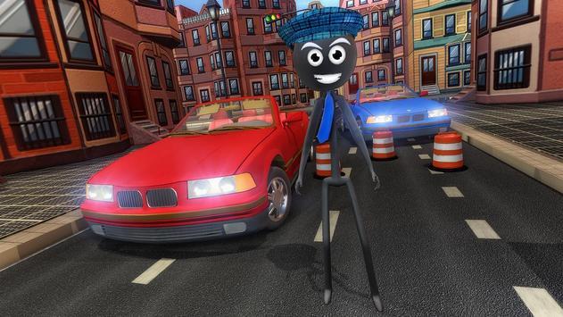 Stick Mafia Transport Car Sim screenshot 4