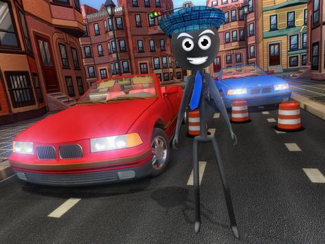 Stick Mafia Transport Car Sim screenshot 9