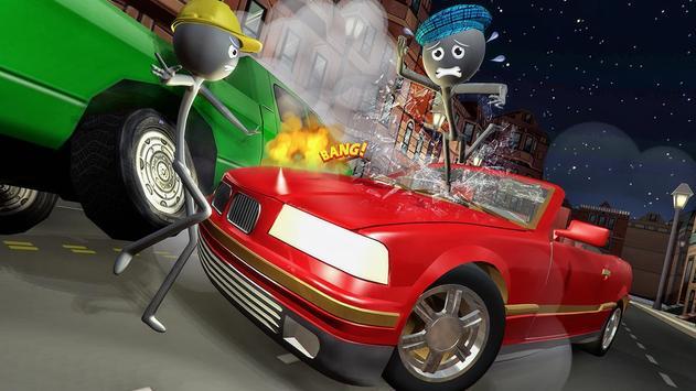 Stick Mafia Transport Car Sim poster