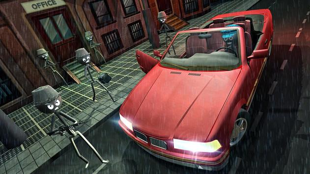 Stick Mafia Transport Car Sim screenshot 2