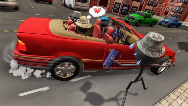 Stick Mafia Transport Car Sim screenshot 3