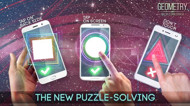 Geometry Neon Challenge screenshot 1