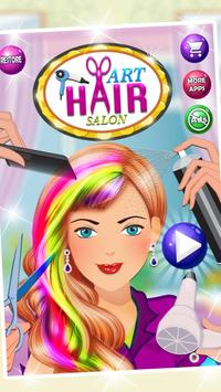 Fashion Girls Hair Salon poster