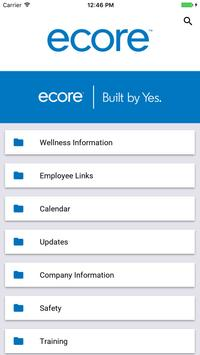 Ecore Communications App apk screenshot