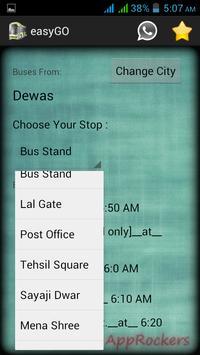 Dewas Indore easyGO screenshot 3