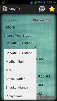 Dewas Indore easyGO screenshot 1