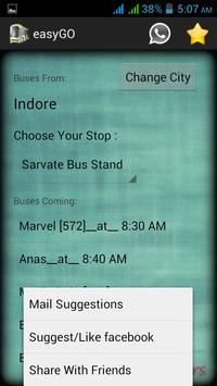 Dewas Indore easyGO screenshot 2