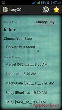 Dewas Indore easyGO screenshot 4
